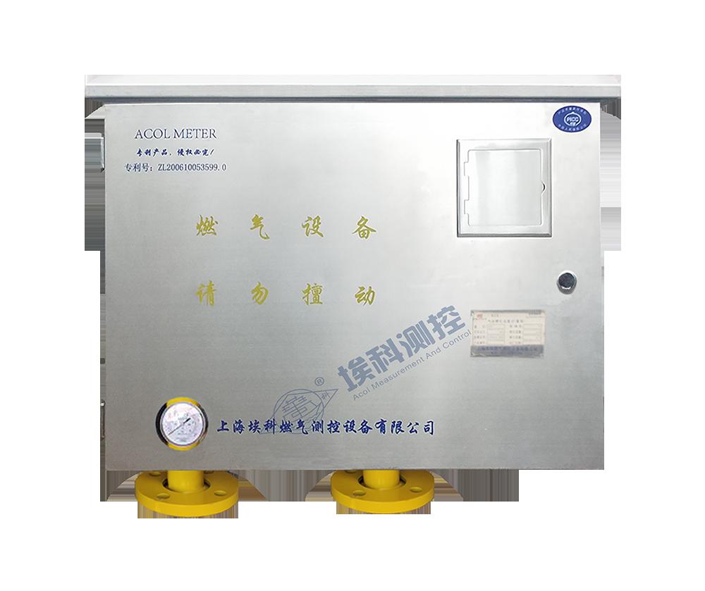 氣體腰輪流量計量箱